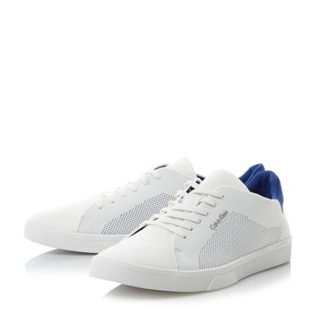 Calvin Klein Ion 2 fly knit cupsole trainers