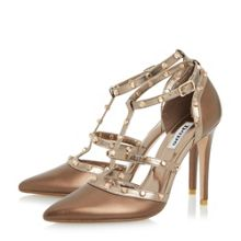 Dune Daenerys studded high heel court shoes