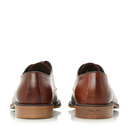 Bertie Ricon 3 eye contrast lace up shoes