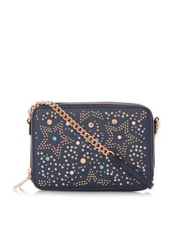 Dazzler star embellished cross body bag