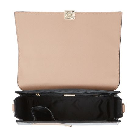 Dune Datchwork patchwork top handle bag
