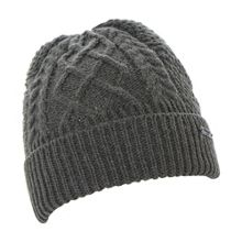 Dune Ombre cable knit beanie