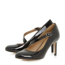 Head Over Heels Anitta asymetric strap court shoes