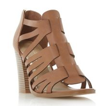 Head Over Heels Jasinda multi strap sandals