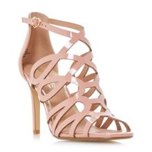 Head Over Heels Mae caged dressy sandals