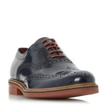 Dune Blackfriars hi-shine brogue shoes