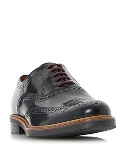 Blackfriars hi-shine brogue shoes