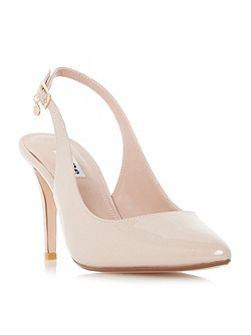Cathy slingback court shoes