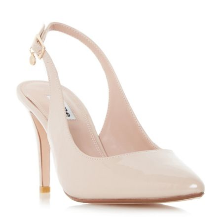 Dune Cathy slingback court shoes