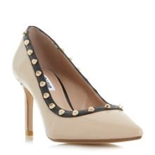 Dune Babylonn studded court shoes
