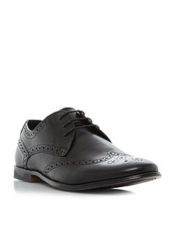 Pirate round toe brogue shoe