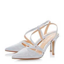 Head Over Heels Chloe assymetric pointed court shoes
