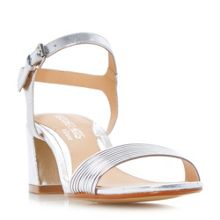 Head Over Heels Mandi low block tube strappy sandals