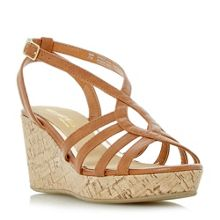 Head Over Heels Kimmi strappy wedge sandals