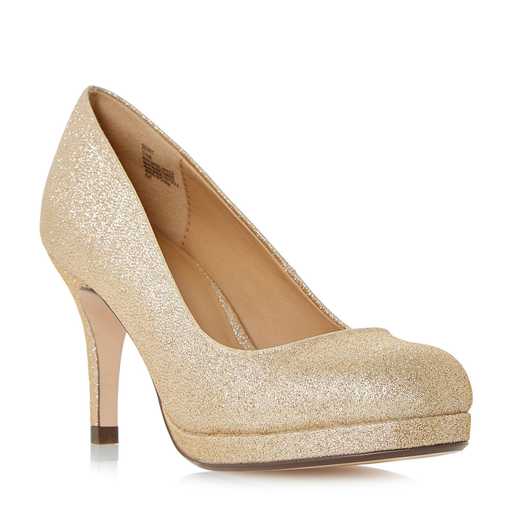 gold platform shoes house of fraser