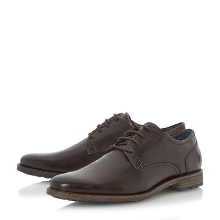 Dune Bran cleated sole gibson shoes