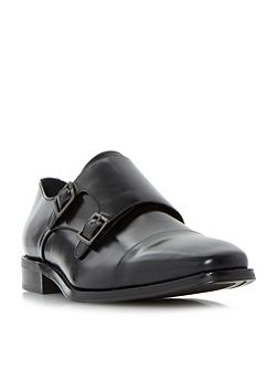 Putney Double Buckle Monk Shoes