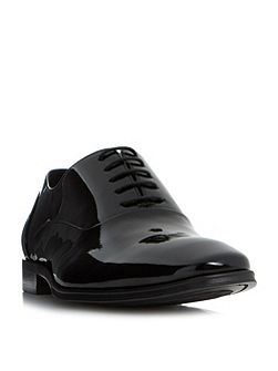Pluto patent oxford shoe
