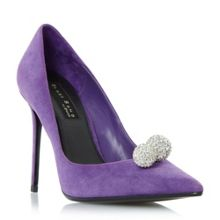 Dune Buckinghamm crystal ball court shoes
