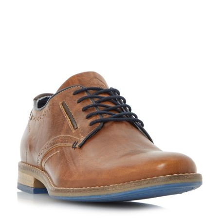 Dune Brewer Piped Gibson Casual Shoes