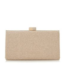 Linea Bryley embellished clasp clutch