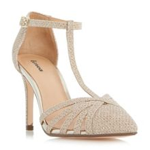 Linea Dilila strappy t-bar court shoes
