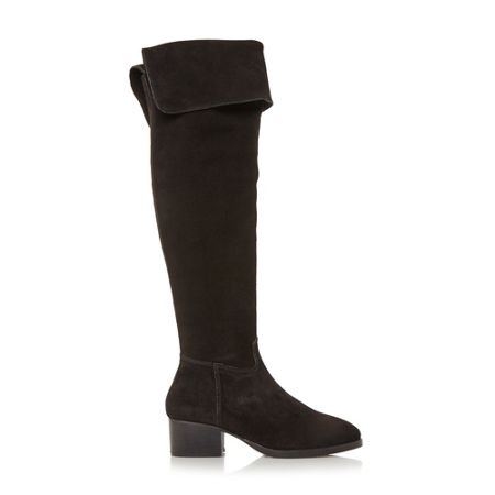 Dune Tangent over the knee high leg boots