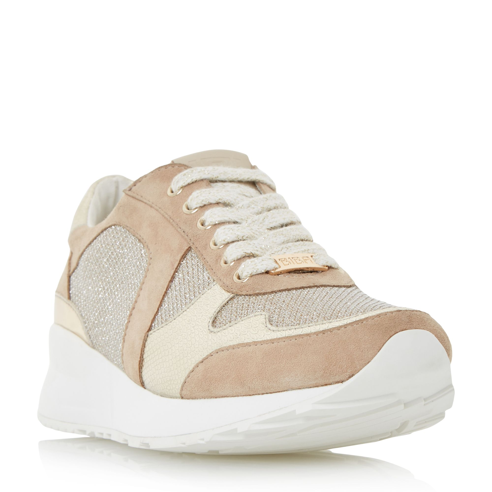 Biba Biba Emerin casual trainers, Metallic