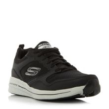 Skechers Brust 2.0 overlay lace up trainers