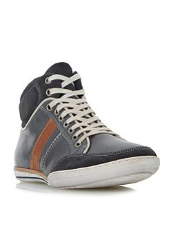 Shandy padded collar high top trainers