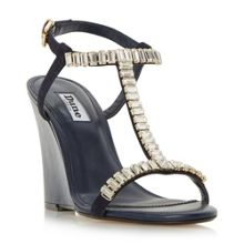 Dune Maitai baguette wedge sandals