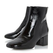 Dune Packham low block heel ankle boots