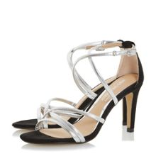 Head Over Heels Maggda tubular strap sandals