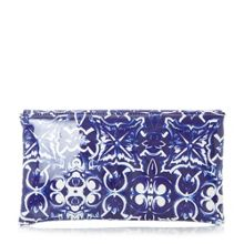 Dune Billow tile print clutch