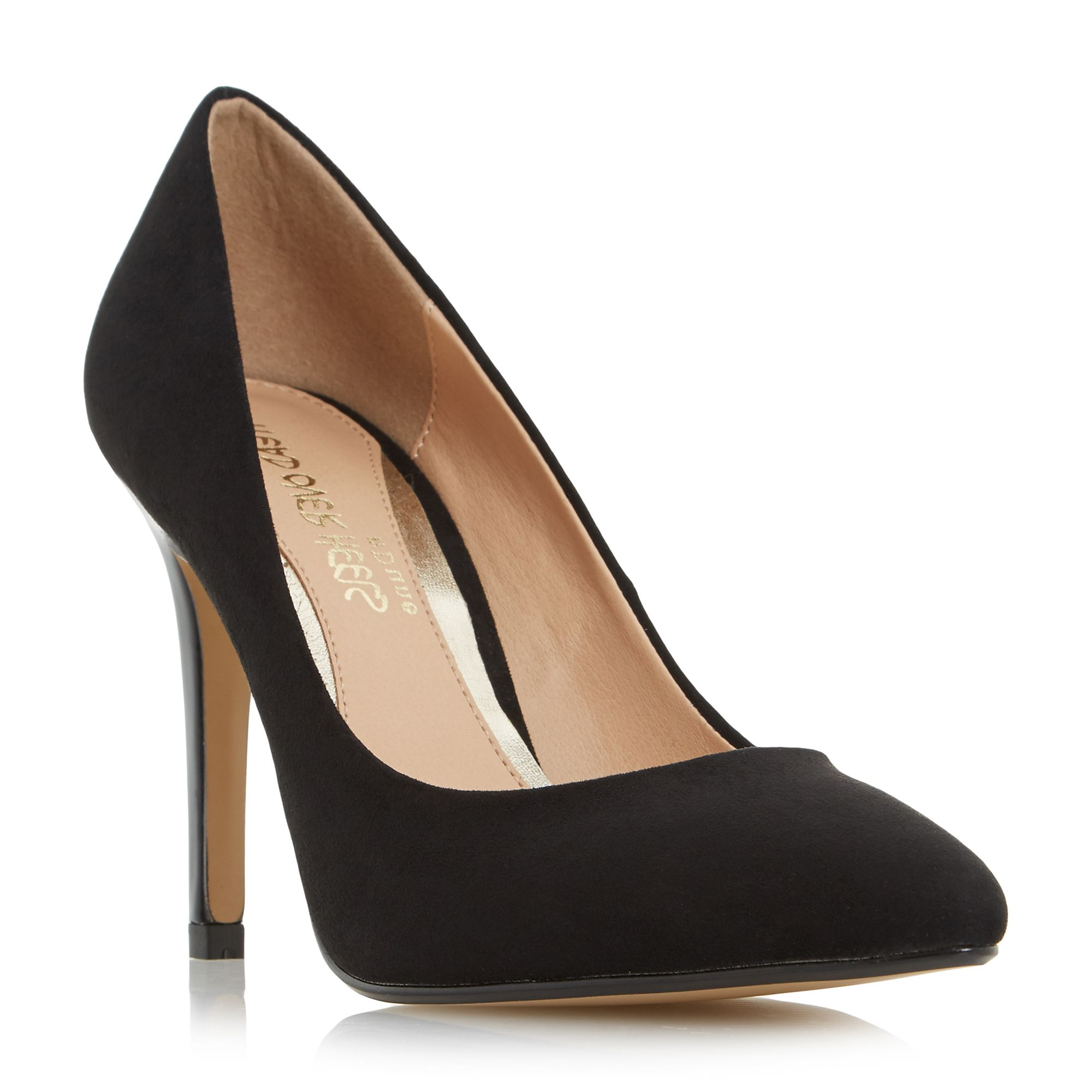 Head Over Heels Alice pointed court shoes Black