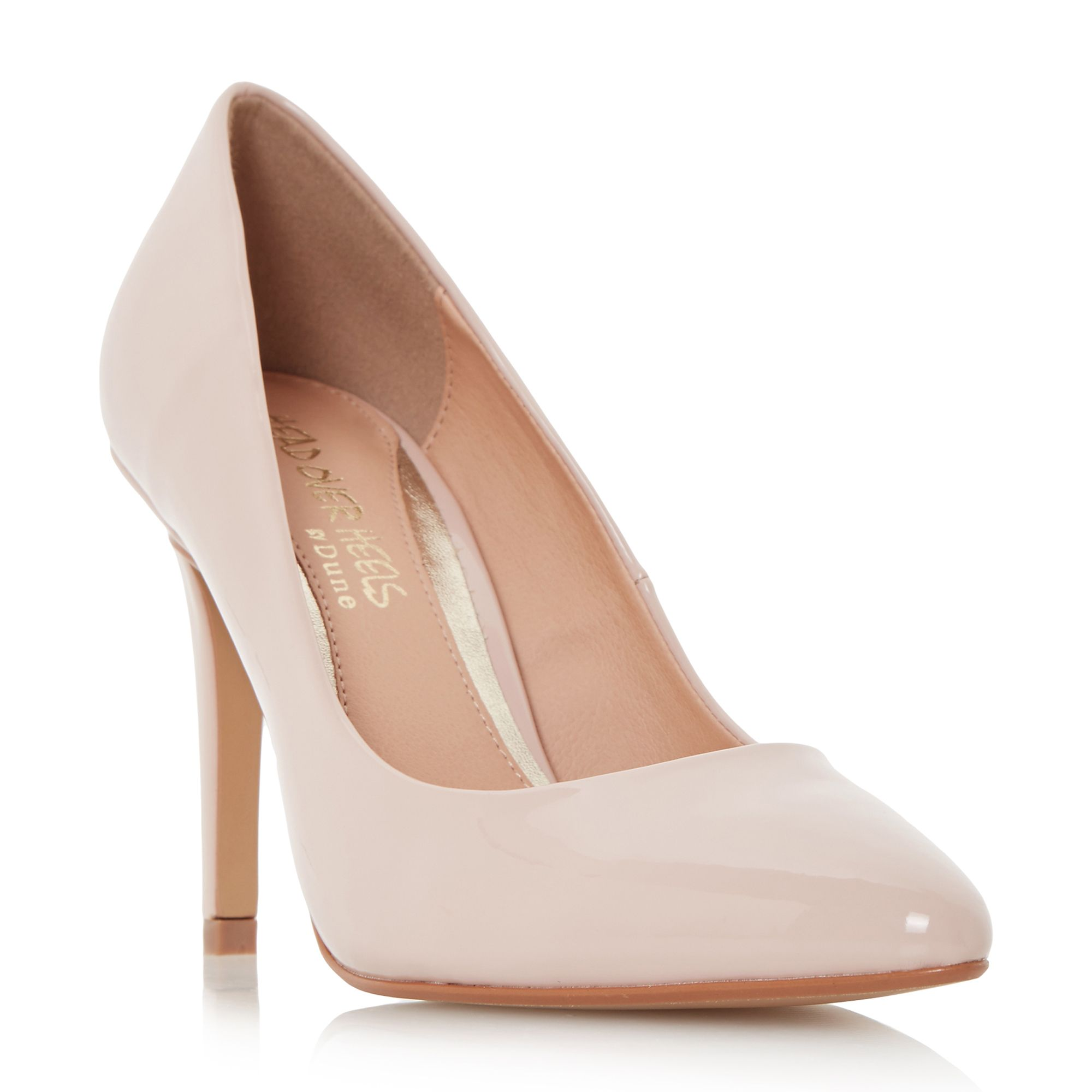 Head Over Heels Alice pointed court shoes Nude