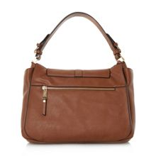 Dune Dennerson turn lock slouchy shoulder bag