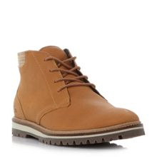 Lacoste Montbard cleated sole chukka boots