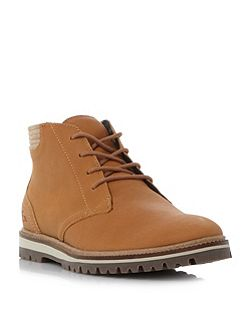 Montbard cleated sole chukka boots