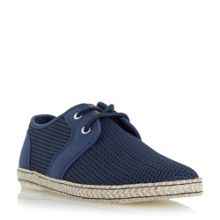 Dune Fenntons lace up mesh canvas shoes