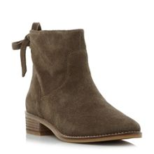 Steve Madden Chaz sm back tie detail ankle boots