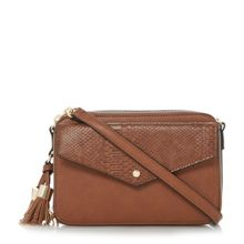 Dune Dottie chain crossbody envelope bag