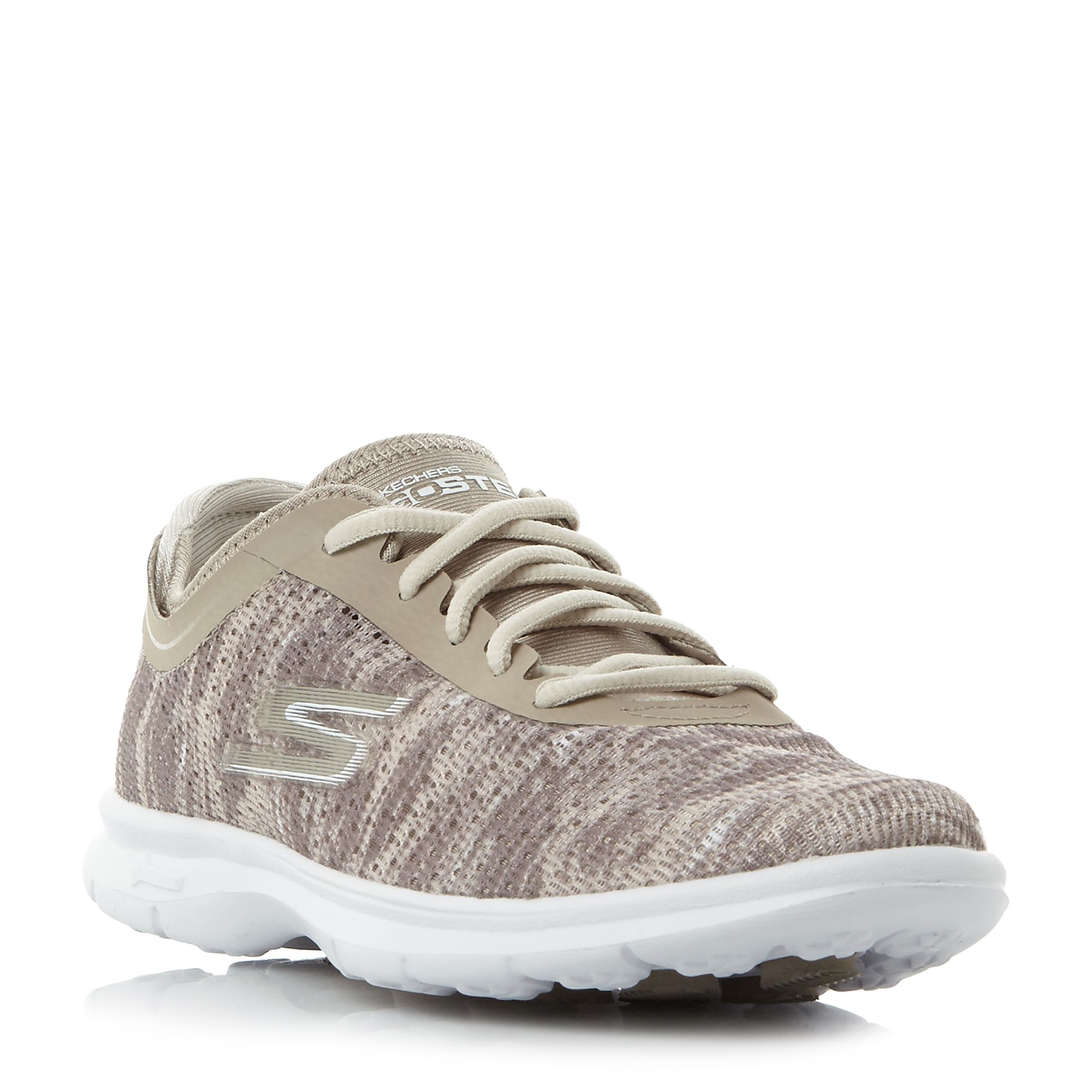 Skechers Go step watermark print lace, Taupe