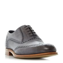 Barker Valiant hand painted wingtip brogues
