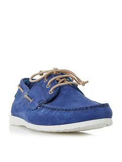Belize lace up boat shoe