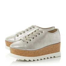 Steve Madden Korrie sm lace up flatform brogue shoes