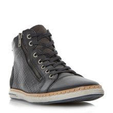 Dune Supernova embossed high top trainer