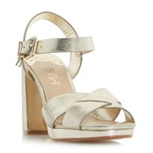 Biba Mariano two part platform sandals