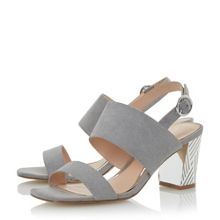 Head Over Heels Mally Etch Heel Sandals