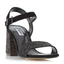 Dune Mylow block heel sandals